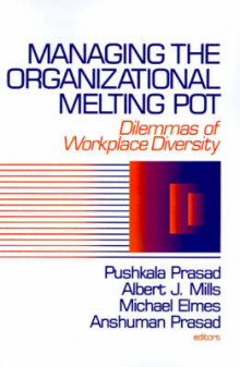 Managing the Organizational Melting Pot av Pushkala Prasad, Albert J. Mills, Michael Elmes og Anshuman Prasad (Heftet)