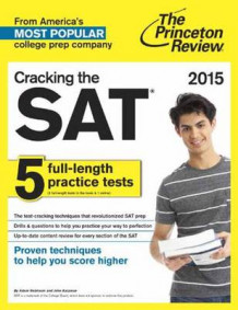 Cracking the SAT with 5 Practice Tests 2021 av Princeton Review (Heftet)