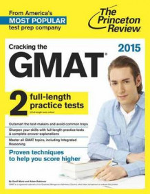 Cracking the GMAT with 2 Practice Tests 2015 av Princeton Review (Heftet)