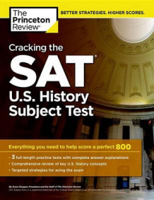 Cracking the SAT U.S. History Subject Test av Princeton Review (Heftet)