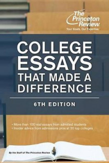 College Essays That Made a Difference av Princeton Review (Heftet)