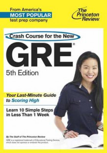 Crash Course for the GRE av Princeton Review (Heftet)