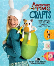 Adventure Time Crafts av Cartoon Network og Chelsea Bloxsom (Heftet)