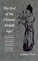 Omslag - The End of the Chinese `Middle Ages'