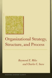 Organizational Strategy, Structure and Process av Raymond E. Miles og Charles C. Snow (Heftet)