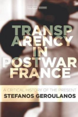 Omslag - Transparency in Postwar France