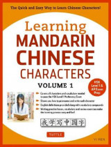 Omslag - Learning Mandarin Chinese Characters Volume 1: Volume 1