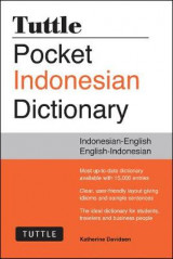 Omslag - Tuttle Pocket Indonesian Dictionary