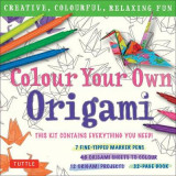 Omslag - Colour Your Own Origami