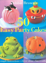 Omslag - 50 Easy Party Cakes