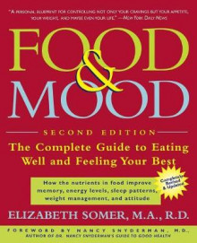 Food and Mood av Elizabeth Somer (Heftet)