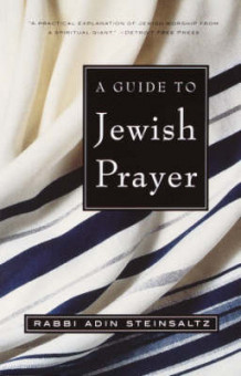 Guide to Jewish Prayer av Adin Steinsaltz (Heftet)