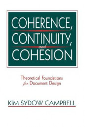 Coherence, Continuity, and Cohesion av Kim Sydow Campbell (Heftet)