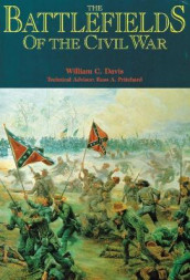 The Battlefields of the Civil War av William C. Davis (Heftet)