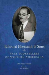 Omslag - Edward Eberstadt and Sons