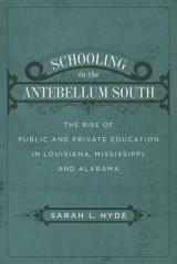 Omslag - Schooling in the Antebellum South