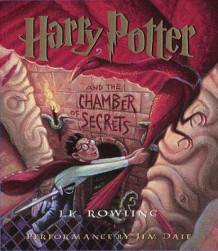 Harry Potter and the Chamber of Secrets av J. K. Rowling og Jim Dale (Lydbok-CD)