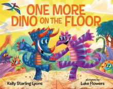 One More Dino on the Floor av Kelly Starling Lyons (Innbundet)