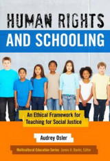 Omslag - Human Rights and Schooling