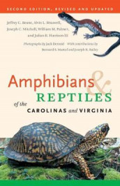 Amphibians and Reptiles of the Carolinas and Virginia, 2nd Ed av William M. Palmer (Heftet)
