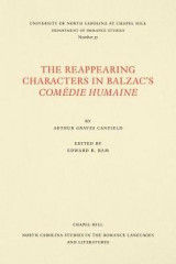 Omslag - The Reappearing Characters in Balzac's ComA (c)die Humaine