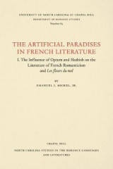 Omslag - The Artificial Paradises in French Literature