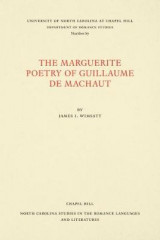 Omslag - The Marguerite Poetry of Guillaume de Machaut