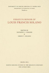 Omslag - Essays in Honor of Louis Francis Solano
