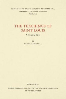 The Teachings of Saint Louis av David O'Connell (Heftet)