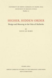 Higher, Hidden Order av David Lee Rubin (Heftet)