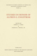 Omslag - Studies in Honor of Alfred G. Engstrom