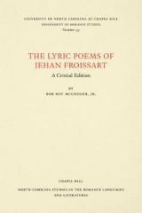 Omslag - The Lyric Poems of Jehan Froissart