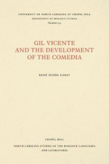 Omslag - Gil Vicente and the Development of the Comedia