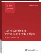 Omslag - Tax Accounting in Mergers and Acquisitions, 2017 Edition