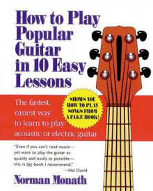 How to Play Popular Guitar in 10 Easy Lessons av Norman Monath (Heftet)