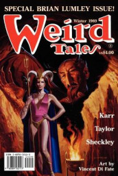 Weird Tales 295 (Winter 1989/1990) av Brian Lumley og Robert Sheckley (Heftet)