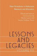 Omslag - Lessons and Legacies: Volume 12