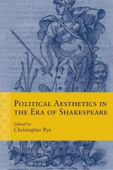 Omslag - Political Aesthetics in the Era of Shakespeare