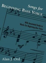 Omslag - Songs for Beginning Bass Voice