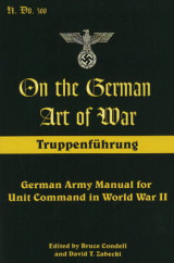 Omslag - On the German Art of War