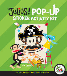 Julius! Pop-up Sticker Activity Kit av Paul Frank (Eksperimentell innbinding)