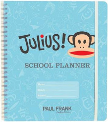 Julius School Planner av Paul Frank Industries (Minnebok)