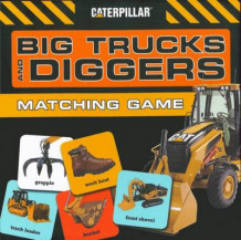Big Trucks and Diggers Matching Game av Caterpillar Corporation (Eksperimentell innbinding)