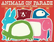 Animals on Parade Notecard Set by Sukie av Darrell Gibbs (Dagbok)