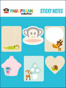 Paul Frank Sticky Notes av Paul Frank (Eksperimentell innbinding)