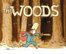The Woods av Paul Hoppe (Innbundet)