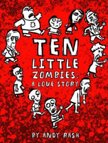 Ten Little Zombies av Andy Rash (Innbundet)