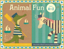 Animal Fun from A to Z Flash Cards av Junzo Terada (Undervisningskort)