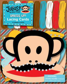 Julius! Dress Up! Lacing Cards av Paul Frank Industries (Andre varer)