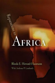 Reparations to Africa av Rhoda E. Howard-Hassmann (Heftet)
